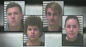 Dylan Schalk, Jerry French, Stefanie Marczi, and Trent Nunn were all arrested in connection with a drug deal in Moscow Mills By KMOV.com Staff