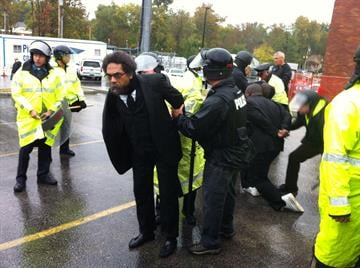 Activist Cornell West was arrested in Ferguson Monday By Daniel Fredman