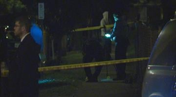 Around 12:50 a.m. police received a call that two people were shot on West Florissant and Alice. By Stephanie Baumer