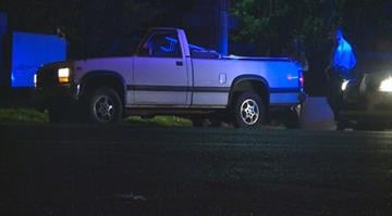 The shooting took place in the 7700 block of Trenton Avenue in University City around 12:30 a.m. Following the shooting, a white truck and a maroon Sedan led police into the St. Louis City limits on a chase. By Stephanie Baumer
