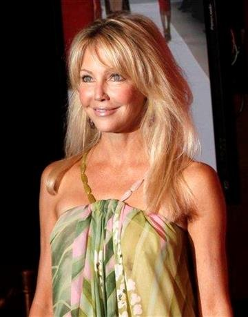 FILE - In this June 12, 2009 file photo, Heather Locklear arrives at the Women in Film Crystal Lucy Awards in Los Angeles. (AP Photo/Matt Sayles, file) By Matt Sayles