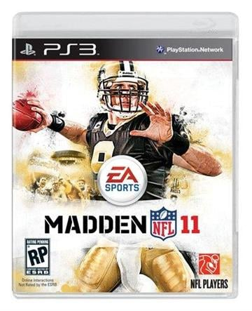 "In this publicity image released by EA Sports, New Orleans Saints quarterback Drew Brees is featured on the cover of EA Sports' ""Madden NFL 11."" (AP Photo/EA Sports) By KMOV Web Producer"