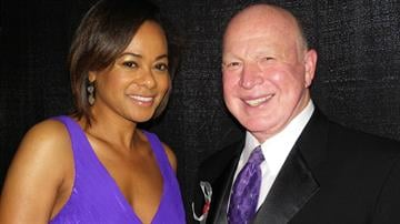 News 4 Anchors Vickie Newton and Larry Conners. By KMOV Web Producer