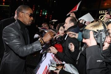 BERLIN, GERMANY - JANUARY 08:  Jamie Foxx attends 'Django Unchained' Berlin Premiere at Cinestar Potsdamer Platz on January 8, 2013 in Berlin, Germany.  (Photo by Sean Gallup/Getty Images for Sony Pictures) By Sean Gallup