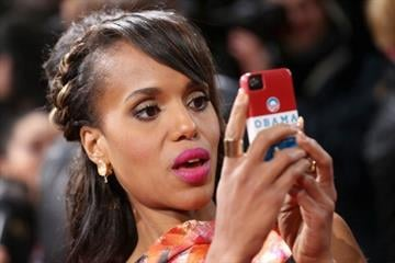 BERLIN, GERMANY - JANUARY 08:  Kerry Washington attends 'Django Unchained' Berlin Premiere at Cinestar Potsdamer Platz on January 8, 2013 in Berlin, Germany.  (Photo by Sean Gallup/Getty Images for Sony Pictures) By Sean Gallup