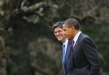 Chief of staff Jack Lew becomes Treasury Secretary as the administration braces for Republican battles over national debt. OBAMA-TREASURY By MANDEL NGAN