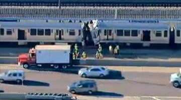 Dozens of people were injured when two Chicago Transit Authority trains crashed on Sept. 30, 2013. / CBS CHICAGO By Belo Content KMOV
