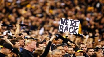 Good times in Pittsburgh.  The Pirates play their first playoff game in 21 years, facing the Reds in a National League wild-card game. By Jared Wickerham