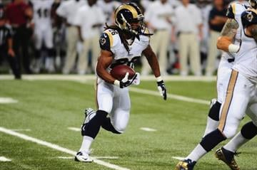 ST. LOUIS, MO - SEPTEMBER 26: Daryl Richardson #26 of the St. Louis Rams rushes the ball against the San Francisco 49ers at the Edward Jones Dome on September 26, 2013 in St. Louis, Missouri.  (Photo by Michael Thomas/Getty Images) By Michael Thomas
