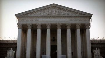 Who's taking a fresh look at campaign financing?  The Supreme Court is considering whether to undo some limits on contributions from big givers to political campaigns. By CBS/Getty Images