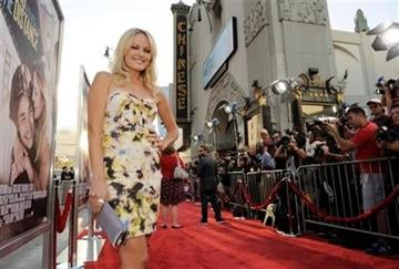 """Actress Malin Akerman poses at the premiere of the film """"Going the Distance,"""" Monday, Aug. 23, 2010, at Grauman's Chinese Theatre in Los Angeles. (AP Photo/Chris Pizzello) By Chris Pizzello"""
