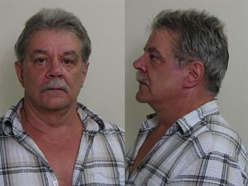 John Winship, 63, is charged with aggravated unlawful discharge of a firearm and domestic battery.