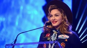NEW YORK, NY – MARCH 16: Madonna speaks onstage at the 24th Annual GLAAD Media Awards on March 16, 2013 in New York City. (Photo by Jamie McCarthy/Getty Images for GLAAD) By KMOV Web Producer