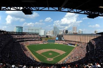 #3 Oriole Park at Camden Yards in Baltimore By Greg Fiume