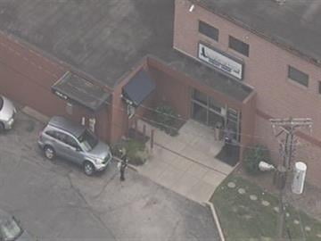 This aerial photo shows the American Eagle Credit Union located at 4650 Hampton Ave. in south St. Louis. Police say the credit union was robbed on Friday, November 12, 2010. By KMOV Web Producer