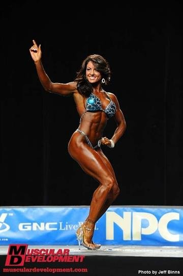 Jennifer Richards of South St. Louis recently competed in the 2010 NPC National Bodybuilding Championships in Atlanta and finished eighth. By KMOV Web Producer