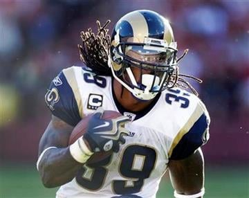 St. Louis Rams running back Steven Jackson runs against the San Francisco 49ers during the third quarter of an NFL football game in San Francisco, Sunday, Nov. 14, 2010. (AP Photo/Ben Margot) By Ben Margot