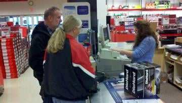 Sears is open on Thanksgiving for the first time ever. By Afton Spriggs