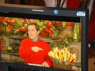Take a look behind the scenes of the taping of the Great Day holiday special at Three French Hens. By KMOV Web Producer