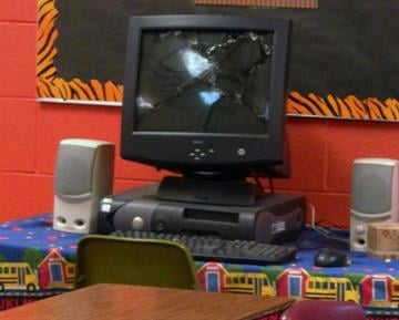 Vandals broke into a southern Illinois middle school, causing so much damage, the school was closed Tuesday. By WJBDradio.com