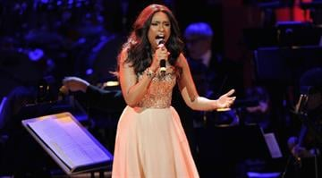 Jennifer Hudson performs during the 2012 Concert for the Rainforest Fund at Carnegie Hall on April 3, 2012 in New York City.  (Photo by Jamie McCarthy/Getty Images) By Jamie McCarthy