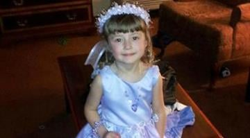 Isabella Brademeyer, 4, is seen in Wichita, Kan., where she was a flower girl at her uncle's wedding, in this April 14, 2012, picture provided by her grandmother, Lori Croft. (AP Photo/Lori Croft) By Belo Content KMOV