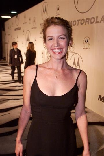 Actress Poppy Montgomery arrives at the 2nd annual Motorola party at Dream in Los Angeles Thursday night, Dec.7, 2000. Photo by Kevin Winter/Getty Images By Kevin Winter