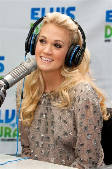 NEW YORK, NY - APRIL 30:  Singer Carrie Underwood visits the Z100 Elvis Duran Morning Show at Z100 Studio on April 30, 2012 in New York City.  (Photo by D Dipasupil/Getty Images for The Elvis Duran Group) By D Dipasupil