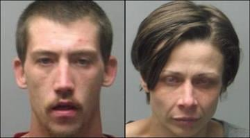 Jennifer Temm, 34, and Matthew Wakeman, 26, were charged with accessory to burglary after police say a teenage boy fought them off while they tried to take the woman's child from a family member's house in St. Charles on Friday. By Belo Content KMOV