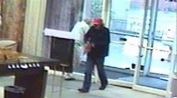 Surveillance video taken at Lindell Bank on Friday. By KMOV Web Producer