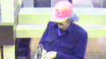 Surveillance video taken at First Bank on Friday. By KMOV Web Producer
