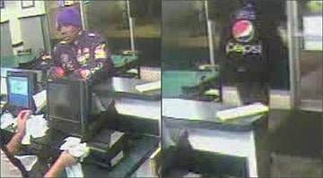 Authorities hope these surveillance photos can help locate a man who robbed a Wing Stop in south St. Louis in March. By Belo Content KMOV