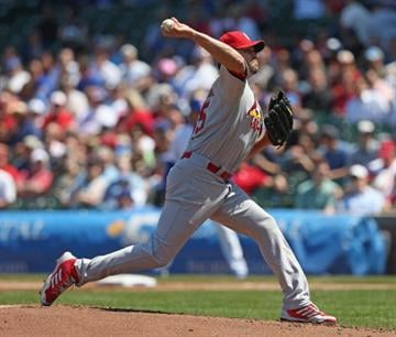 CHICAGO, IL - MAY 08: Starting pitcher Jake Westbrook #35 of the St. Louis Cardinals delivers the ball against the Chicago Cubs at Wrigley Field on May 8, 2013 in Chicago, Illinois. (Photo by Jonathan Daniel/Getty Images) By Jonathan Daniel