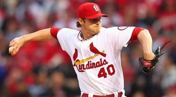 ST. LOUIS, MO - MAY 10: Starter Shelby Miller #40 of the St. Louis Cardinals pitches against the Colorado Rockies at Busch Stadium on May 10, 2013 in St. Louis, Missouri.  (Photo by Dilip Vishwanat/Getty Images) By Dan Mueller
