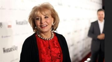 NEW YORK, NY - FEBRUARY 08: Journalist Barbara Walters attends the Woman's Day 8th Annual Red Dress Awards at Jazz at Lincoln Center on February 8, 2011 in New York City.  (Photo by Neilson Barnard/Getty Images for Woman's Day) By Belo Content KMOV