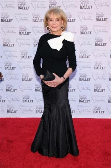 NEW YORK, NY - SEPTEMBER 20:  TV personality Barbara Walters attends the 2012 New York City Ballet Fall Gala at the David H. Koch Theater, Lincoln Center on September 20, 2012 in New York City.  (Photo by Jamie McCarthy/Getty Images) By Jamie McCarthy