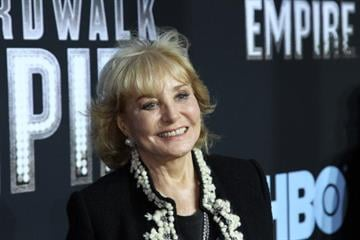 """NEW YORK - SEPTEMBER 15:  Journalist Barbara Walters attends the premiere of """"Boardwalk Empire"""" at the Ziegfeld Theatre on September 15, 2010 in New York City.  (Photo by Neilson Barnard/Getty Images) By Neilson Barnard"""