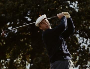 Ken Venturi of the United States during the Piccadilly World Match Play Championship held on 9th October 1964 at The Wentworth Golf Club in Virginia Water, United Kingdom. (Photo by Getty Images) By Getty Images