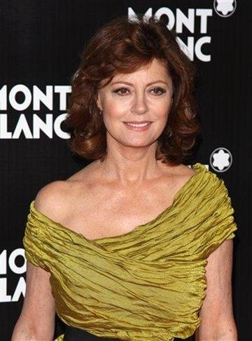 Actress Susan Sarandon attends the global launch of the Montblanc John Lennon edition writing instrument, in New York, on Sunday, Sept. 12, 2010. (AP Photo/Peter Kramer) By Peter Kramer