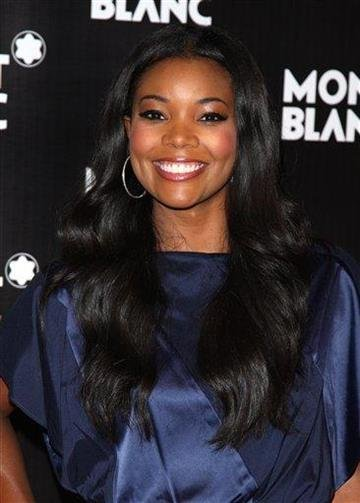 Actress Gabrielle Union attends the global launch of the Montblanc John Lennon edition writing instrument, in New York, on Sunday, Sept. 12, 2010. (AP Photo/Peter Kramer) By Peter Kramer