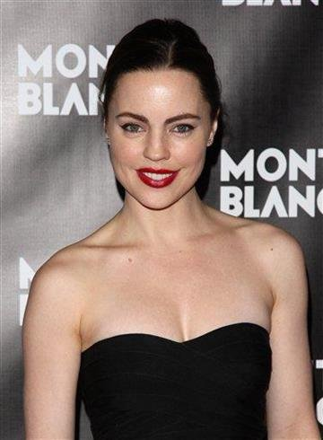 Actress Melissa George attends the global launch of the Montblanc John Lennon edition writing instrument, in New York, on Sunday, Sept. 12, 2010. (AP Photo/Peter Kramer) By Peter Kramer