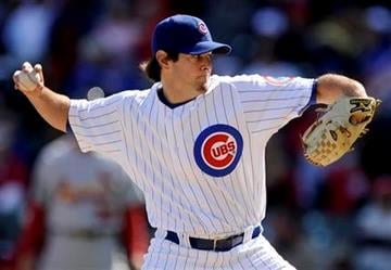 Chicago Cubs starter Casey Coleman delivers a pitch against the St. Louis Cardinals in the first inning during a baseball game in Chicago, Saturday, Sept. 25, 2010. (AP Photo/Paul Beaty) By Paul Beaty