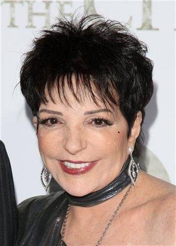 "FILE - In this May 24, 2010 file photo, Liza Minnelli attends the premiere of ""Sex And The City 2"" at Radio City Music Hall in New York. (AP Photo/Peter Kramer, file) By Peter Kramer"
