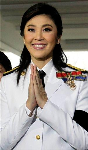 Thai prime minister-to-be Yingluck Shinawatra arrives at Parliament in Bangkok, Thailand, Monday, Aug. 1, 2011. Recently elected Thai lawmakers gathered for the official opening of parliament Monday. (AP Photo/Sakchai Lalit) By Sakchai Lalit