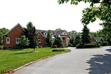 The beautiful Ladue estate is located at 10076 Litzsinger Road in Ladue. By Bryce Moore