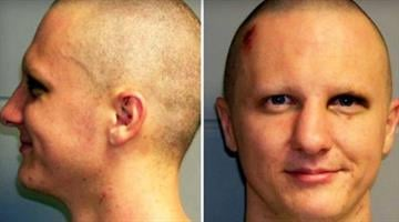 Jared Lee Loughner is seen in these undated booking photos provided by the U.S. Marshals Service. By Belo Content KMOV
