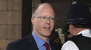 FILE -  In a statement made outside New Broadcasting House, central London, Saturday evening, George Entwistle said he was stepping down as BBC Director General. (AP Photo/Sang Tan, File) By Dan Mueller