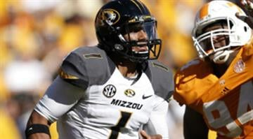 James Franklin led Missouri to a 51-48 win over Tennessee on Nov. 10 with a strong second half performance.