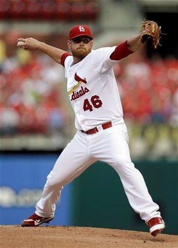 St. Louis Cardinals starting pitcher Kyle McClellan winds up during the first inning of a baseball game against the Philadelphia Phillies on Tuesday, June 21, 2011, in St. Louis. (AP Photo/Jeff Roberson) By Jeff Roberson