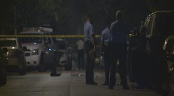 Authorities said two men in their 20's were shot and critically injured in the 4700 block of Hammett Place around 8:30 p.m. Friday night By Stephanie Baumer